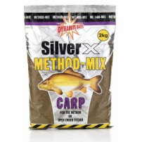 Silver X Carp Method Mix 2kg прикормка Dynamite Baits