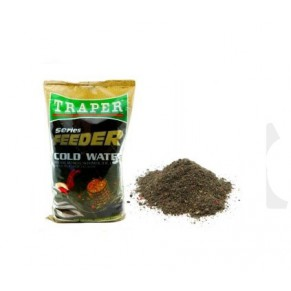 Feeder Cold Water прикормка 1кг Traper - Фото