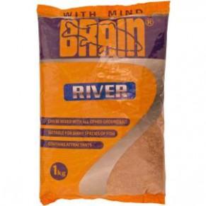 River 1kg прикормка Brain - Фото