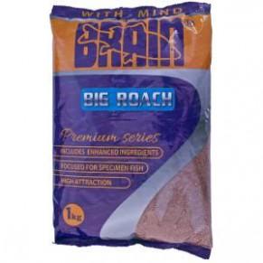 Premium Big Roach 1kg прикормка Brain - Фото