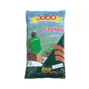 3000 Fond Heavy mix brown донный микс 1кг прикормка Sensas - Фото