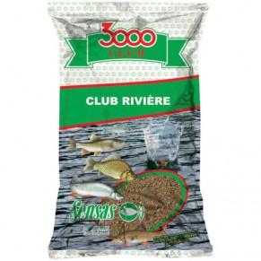 3000 Club река 1кг прикормка Sensas - Фото