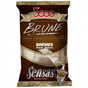 3000 Bream Brown 1 кг прикормка Sensas - Фото