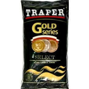 Gold 1кг Select красная прикормка Traper - Фото