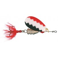KUF-Lippa with fly hook 7g W/R/BL-C блесна ...