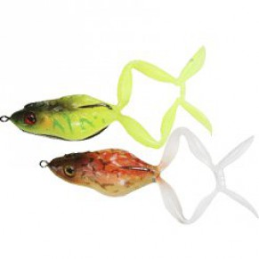 Mask Frog Red Frog & Tiger Frog силикон Jackall - Фото