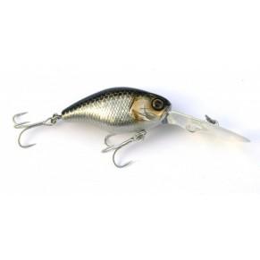 DD Chubby 38мм 4.7г HL Silver & Black 1,5-2м F воблер Jackall - Фото