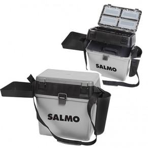 Зимний ящик пластиковый высокий Salmo 39,5х24см; h-37,5см - Фото