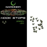 Covert Hook Stops Green (20) стопор на крючок Gardner