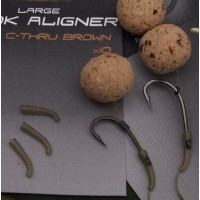 Covert Hook Aligner  (Small) C-Thru Brown оснастка Gardner
