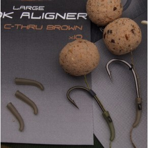 Covert Hook Aligner  (Small) C-Thru Brown оснастка Gardner - Фото