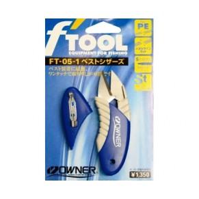 FT-05 89699 Blue ножницы Owner - Фото