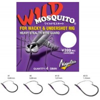Nogales Mosquito Wild 0 крючок Varivas