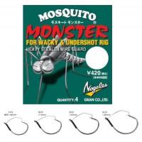 Nogales Mosquito Monster 1/0 крючок Varivas