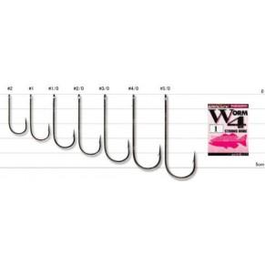 Worm 4 Strong Wire 1/0, 9 шт крючок Decoy - Фото