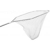 Подсак Select большой алюминиевый Длина ручки - 120 см, Размеры (В/Ш) - 70/70 см, Глубина сетки - 80