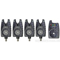 Senzora 13 Bite Alarm Set 4+1 набор сигнали...
