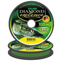 Diamond Exelence 0,25mm 100m леска Salmo