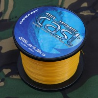 Sure Cast 0.30mm 12lb 5.4kg Solid Yellow леска карповая Gardner