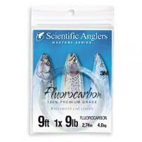 Fluorocarbon Leader 9ft 12lb подлесок флюорокарбоновый Scientific Anglers