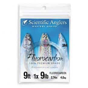 Fluorocarbon Leader 9ft 12lb подлесок флюорокарбоновый Scientific Anglers - Фото