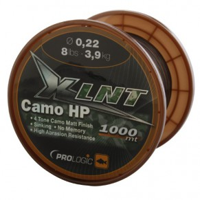 XLNT HP 1000m 10lbs 4.8kg 0.25mm Camo леска Prologic - Фото