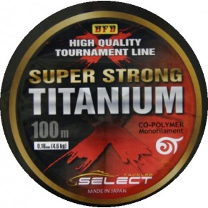 Titanium 0,22 steel, 8,4 kg 100m леска Select - Фото
