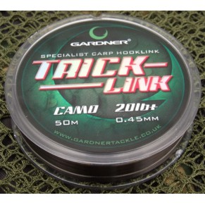 Trick Link 20lB, 9.2Kg, 50m, Camo поводковый материал Gardner - Фото