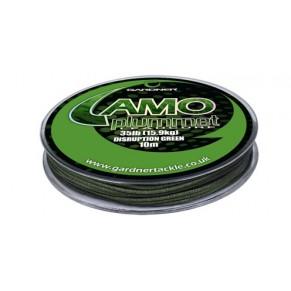 Camo Plummet Leadcore Green 10m материал Gardner - Фото