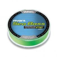 New Avani Seabass max PE Green 150m #0.8 14.5lb шнур Varivas