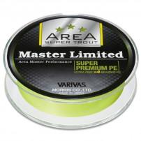 New Super Trout Area Master Ltd. PE Yellow 75m #0,15 шнур Varivas