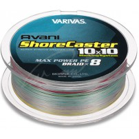 Shore Caster 10x10 Max Power PE 200m #0.6 шнур Varivas