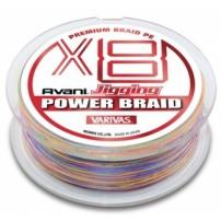 Jiging Power Braid PE x8 200m #0.6 шнур Varivas