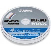 Avani Jigging 10*10 Max PE 100m #2.5 40lb шнур Varivas