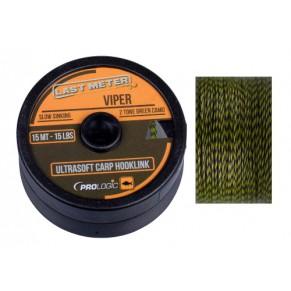 Viper Ultrasoft 15m 25lbs поводковый материал Prologic - Фото