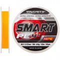 Smart PE 4x 150м #0.6/0.132мм 4кг оранж. шнур Favorite