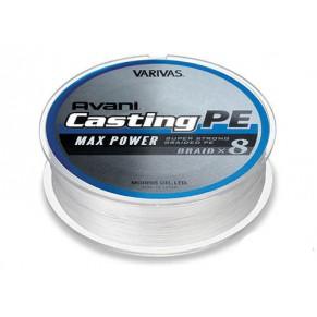 Avani Casting PE Max Power, 400m, #6 85 LB шнур Varivas - Фото