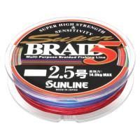 Super Braid 5 150m #2.5/0.25мм 14кг шнур Sunline