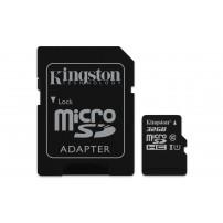 MicroSDHC 32GB Class 10 UHS-I + SD адаптер ...