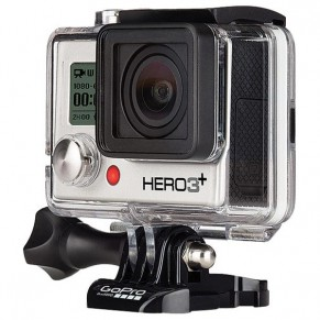 HD Hero 3+ Silver Edition камера GoPro - Фото