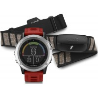 Fenix 3 Silver Performer Bundle наручный навигатор Garmin