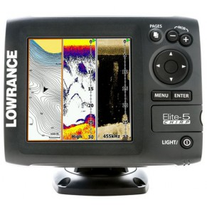 Elite-5 Chirp эхолот Lowrance - Фото