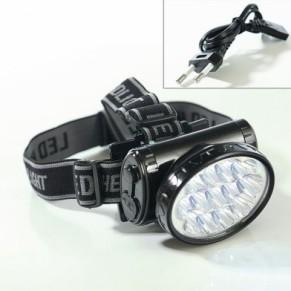TS-776 13 LED фонарь на голову аккумуляторный Tiross - Фото