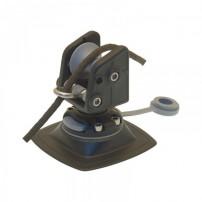 Роликовый узел для якоря с набором для установки на надувной борт черный Fasten