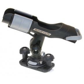 Держатель удилища с набором для установки на С-образный профиль черный Fasten - Фото