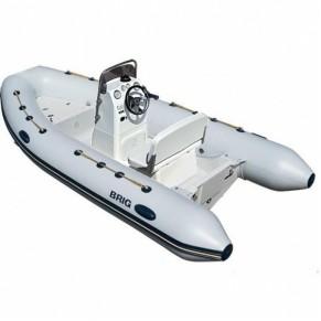 Falcon Riders F450 Deluxe лодка с пластиковым днищем Brig - Фото