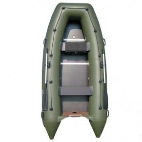 Шельф 310K лодка надувная зеленая Sportex - Фото