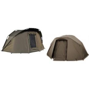 Green Firestarter Bivy 2man W/Overwrap палатка Prologic - Фото