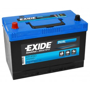 Dual ER 450 95Ач аккумулятор Exide - Фото