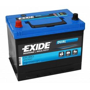 Dual ER 350 80Ач аккумулятор Exide - Фото